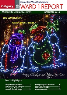 Ward's City of Calgary Budget Series