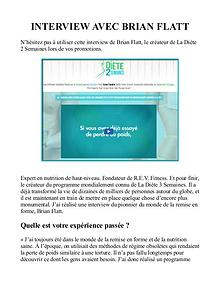 La Diete 2 Semaines PDF / Livre Télécharger Brian Flatt