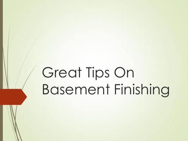 Finished Basement - Your Basement Deserves More Great Tips On Basement Finishing