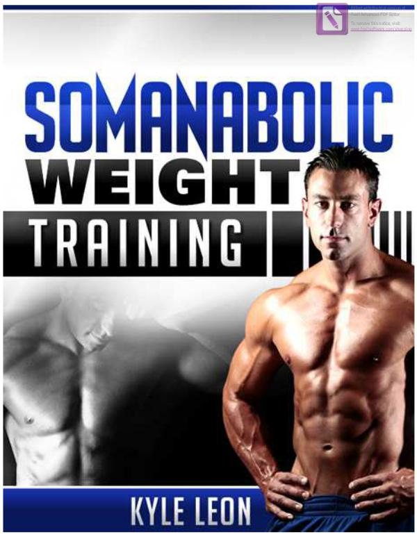 Somanabolic Muscle Maximizer PDF / eBook Free Download Kyle Leon