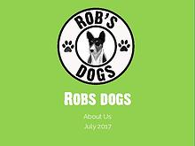 Rob's Dogs - About Us