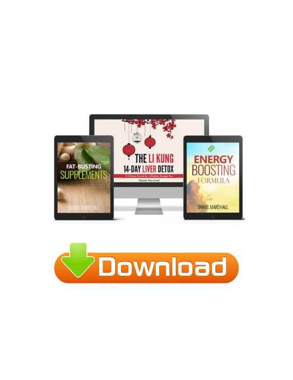 The Li Kung 14-Day Liver Detox PDF / Book Free Download Daniel Marsha Li Kung 14-Day Detox
