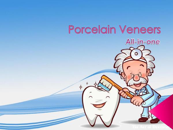 Porcelain Veneers - All-in-one Porcelain Veneers - All-in-one