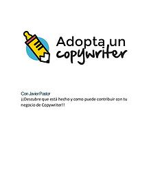 Adopta un Copywriter por Javi Pastor 【 Version 2019 】