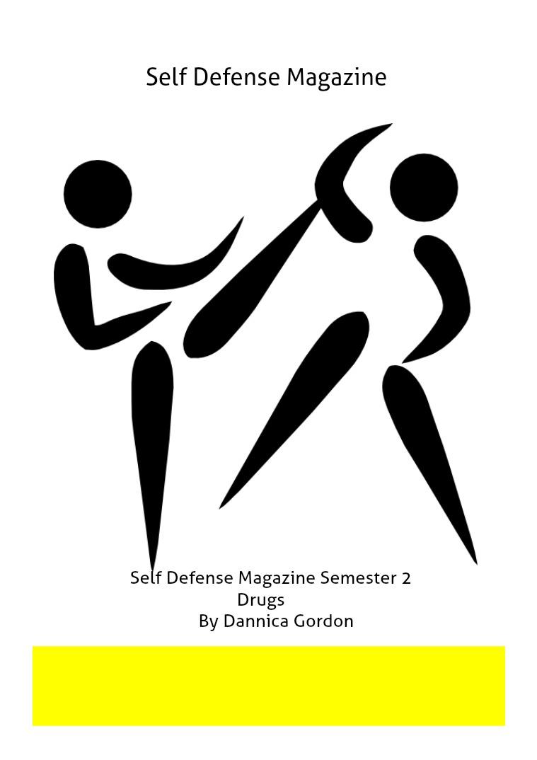 Self Defense Magazine on Drugs