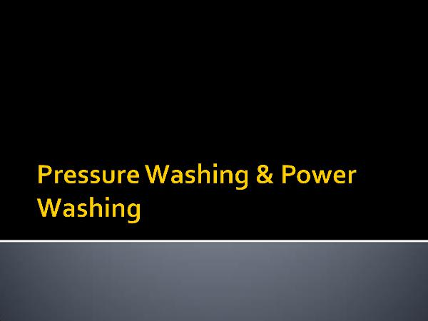 Canadian Restorations GTA Inc Pressure Washing & Power Washing
