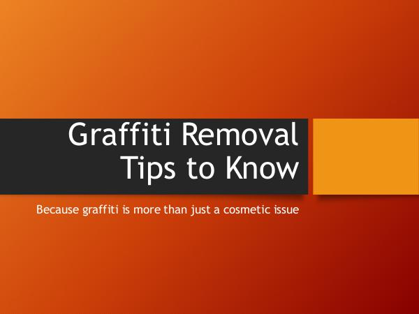 Canadian Restorations GTA Inc Graffiti Removal Tips to Know