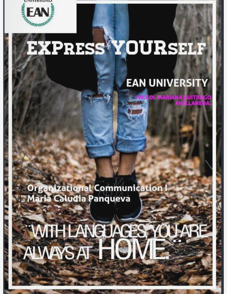 Express Yourself MAGAZINE OC1
