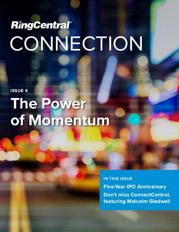 RingCentral Connection The Power of Momentum