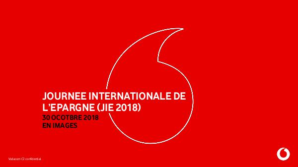 PHOTOS DE LA JOURNEE INTERNATIONALE DE L'EPARGNE (JIE 2018) PHOTOS DE LA JOURNEE INTERNATIONALE DE L'EPARGNE (