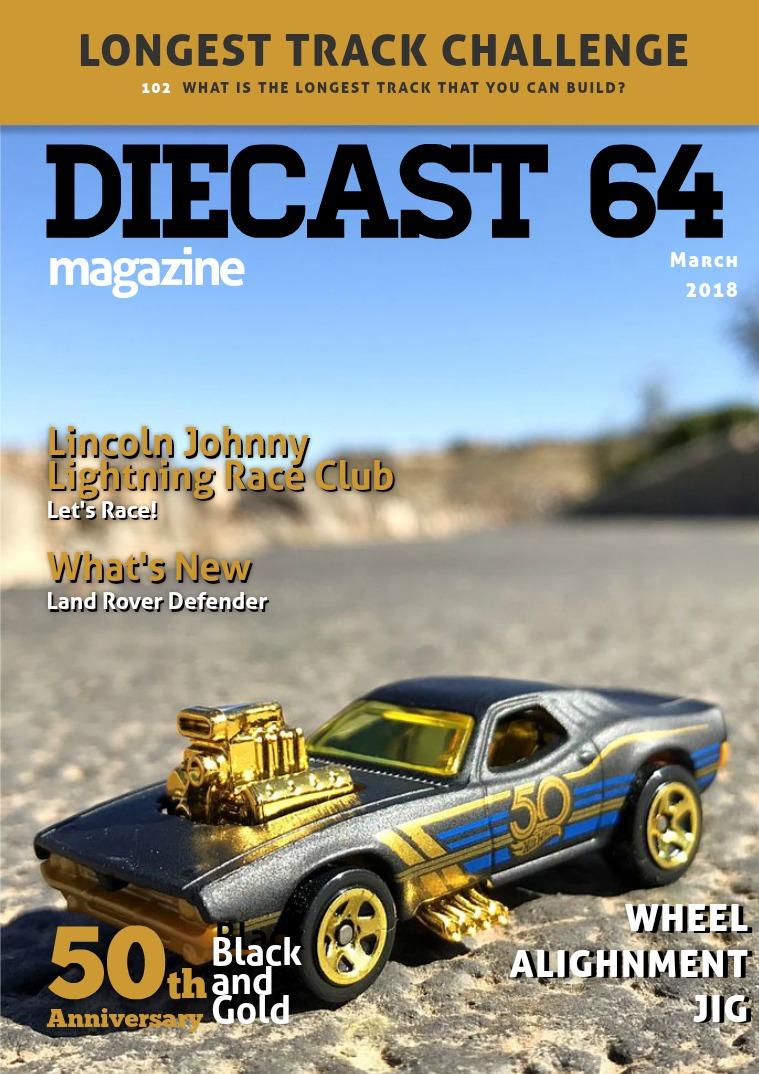 Diecast 64 Magazine March 2018