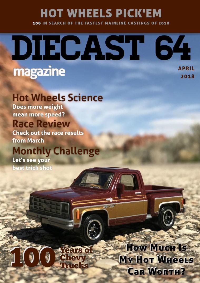 Diecast 64 Magazine April 2018