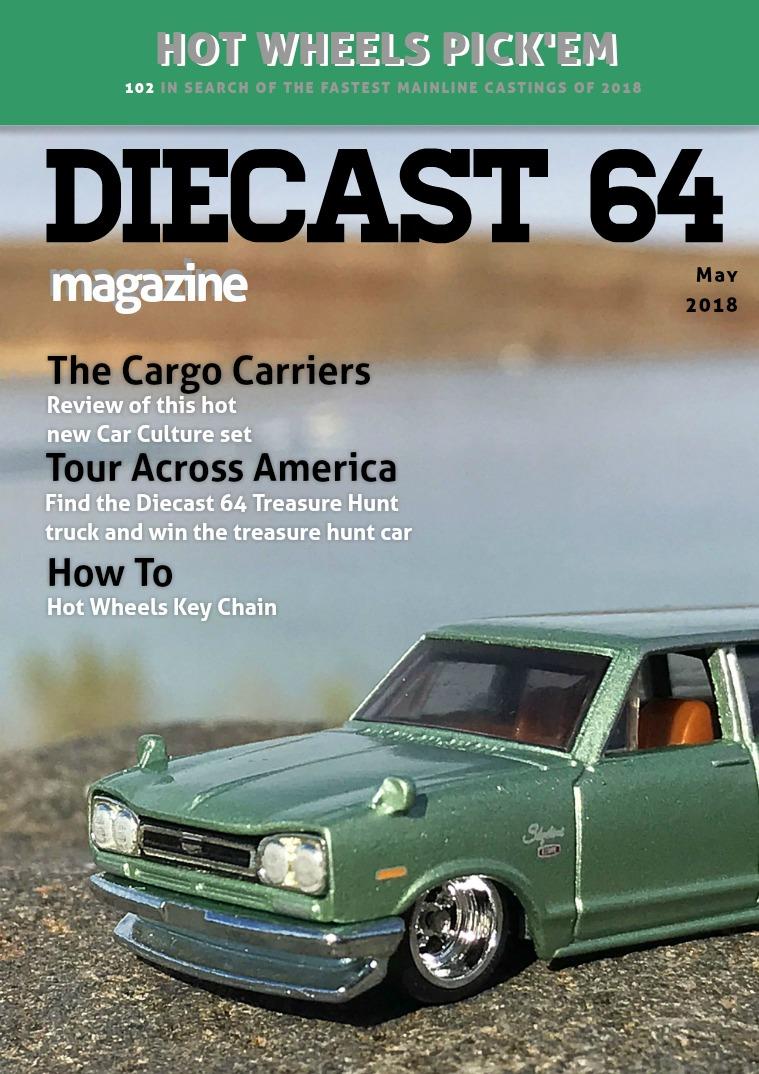 Diecast 64 Magazine May 2018