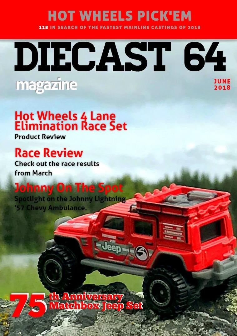 Diecast 64 Magazine June 2018
