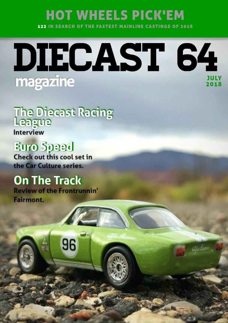 Diecast 64 Magazine July 2018