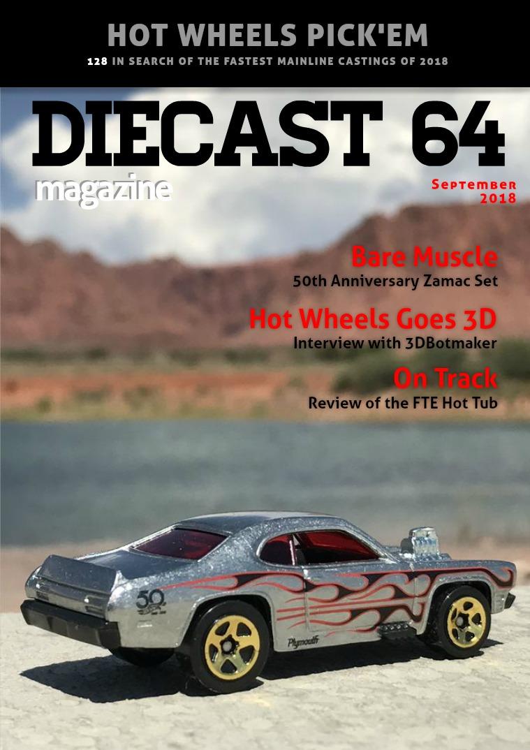 Diecast 64 Magazine September 2018