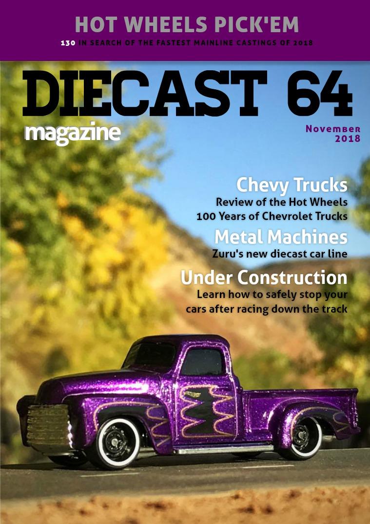 Diecast 64 Magazine November 2018