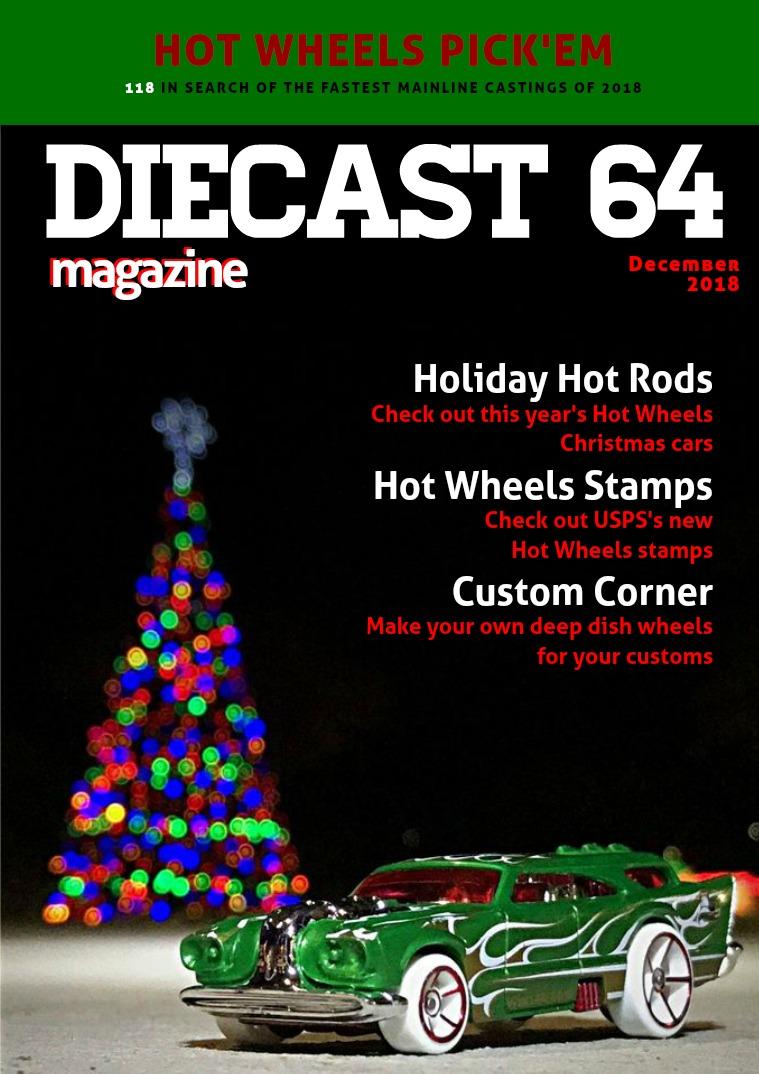 Diecast 64 Magazine December 2018