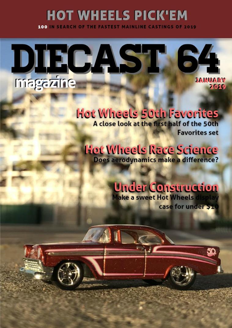 Diecast 64 Magazine January 2019