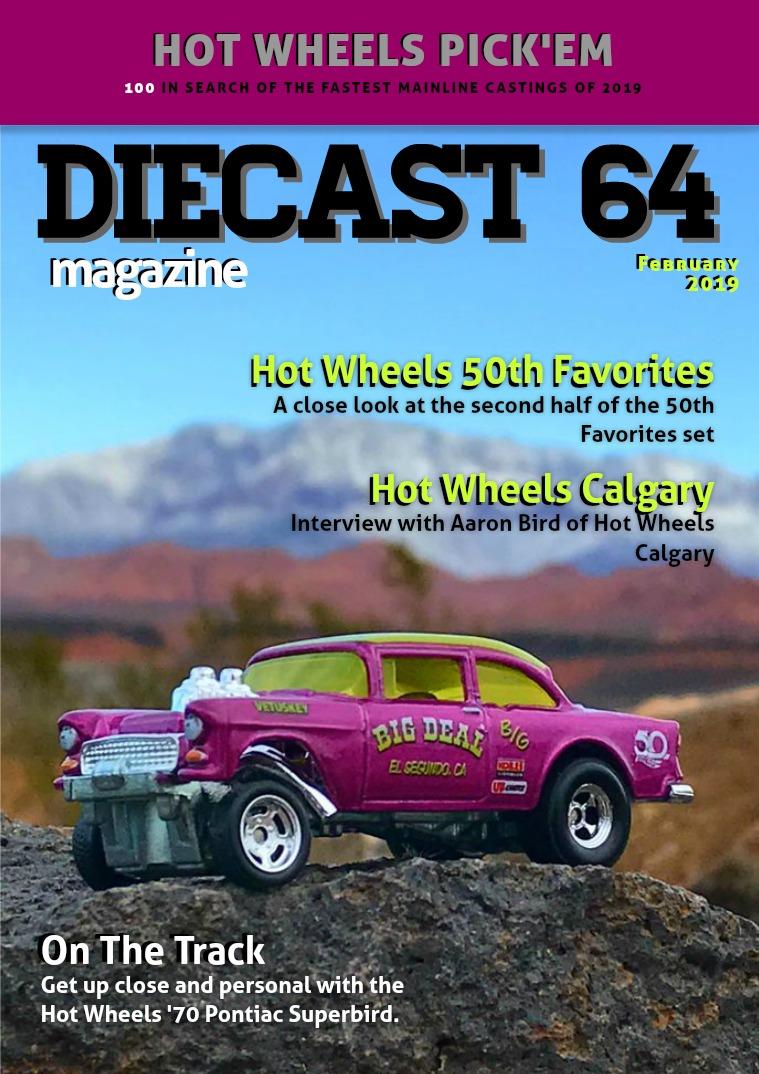 Diecast 64 Magazine February 2019