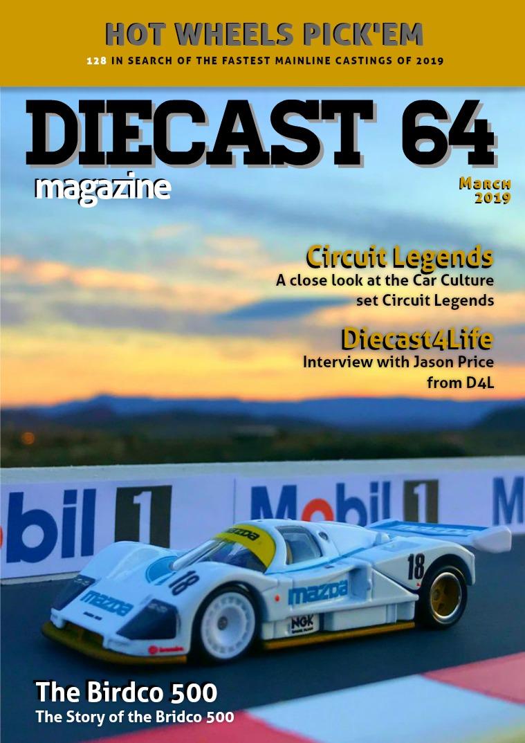 Diecast 64 Magazine March 2019