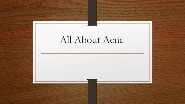 Canada MedLaser All About Acne
