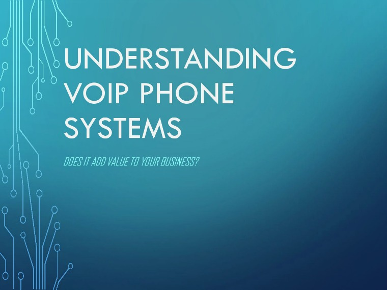 Understanding VoIP Phone Systems