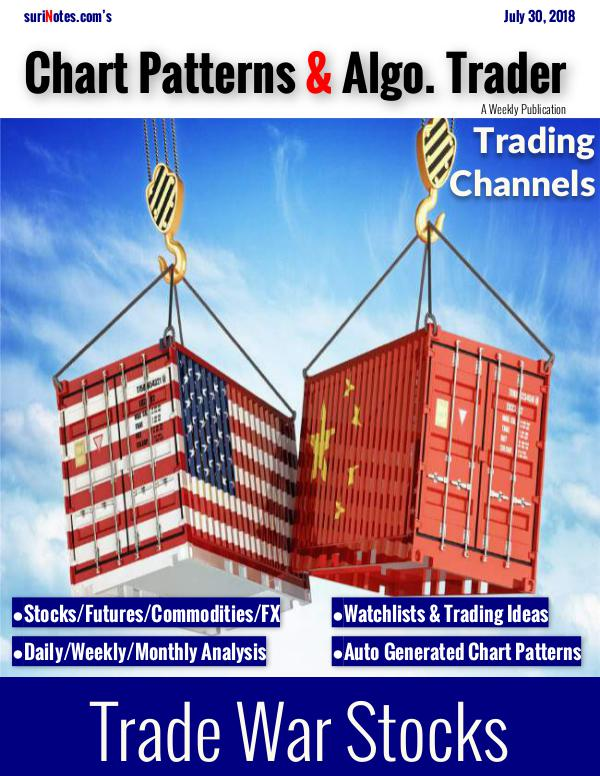 Chart Patterns & Algo. Trader July 30, 2018