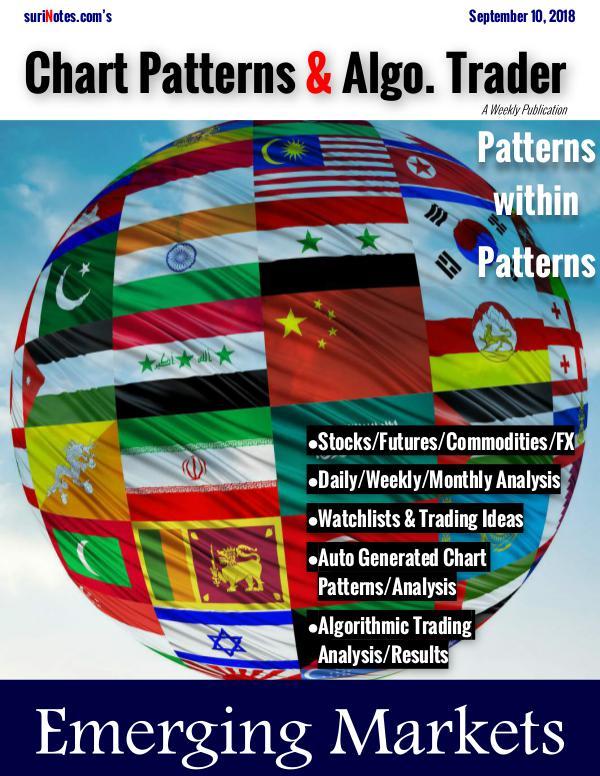 Chart Patterns & Algo. Trader September 10, 2018