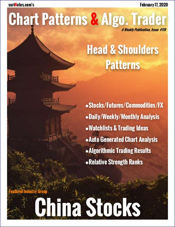 Chart Patterns & Algo. Trader February 17, 2020