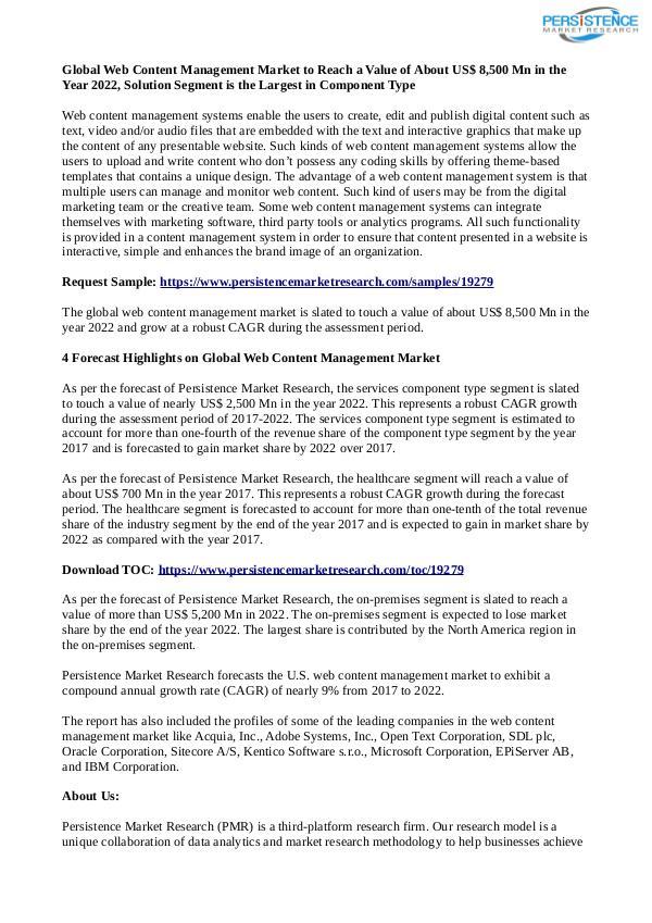 Technology Updates Web Content Management