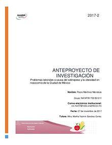 Anteproyectos FIN-11-2017-2