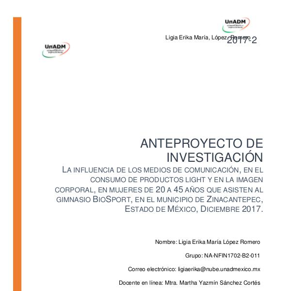 Anteproyectos FIN-11-2017-2 FI_U5_EA_LILR_anteproyectodeinvestigacion