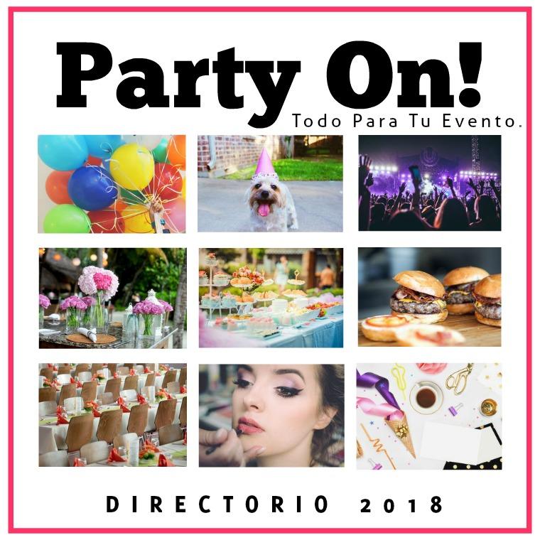Directorio Party On! Hermosillo 2018 edición no.1