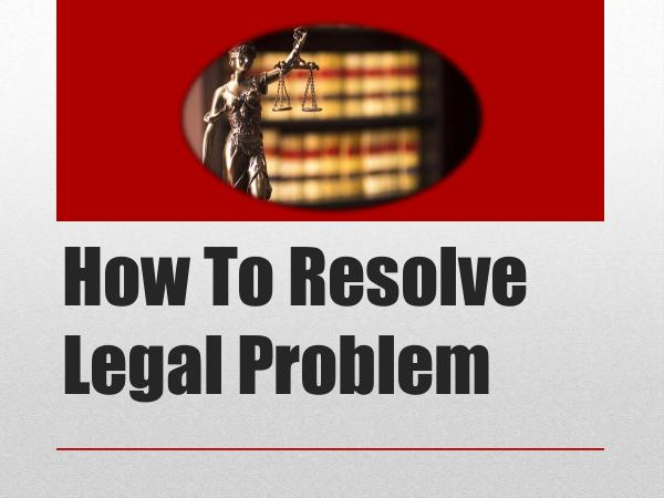 Law Firm of Walter K Schreyer How To Resolve Legal Problem