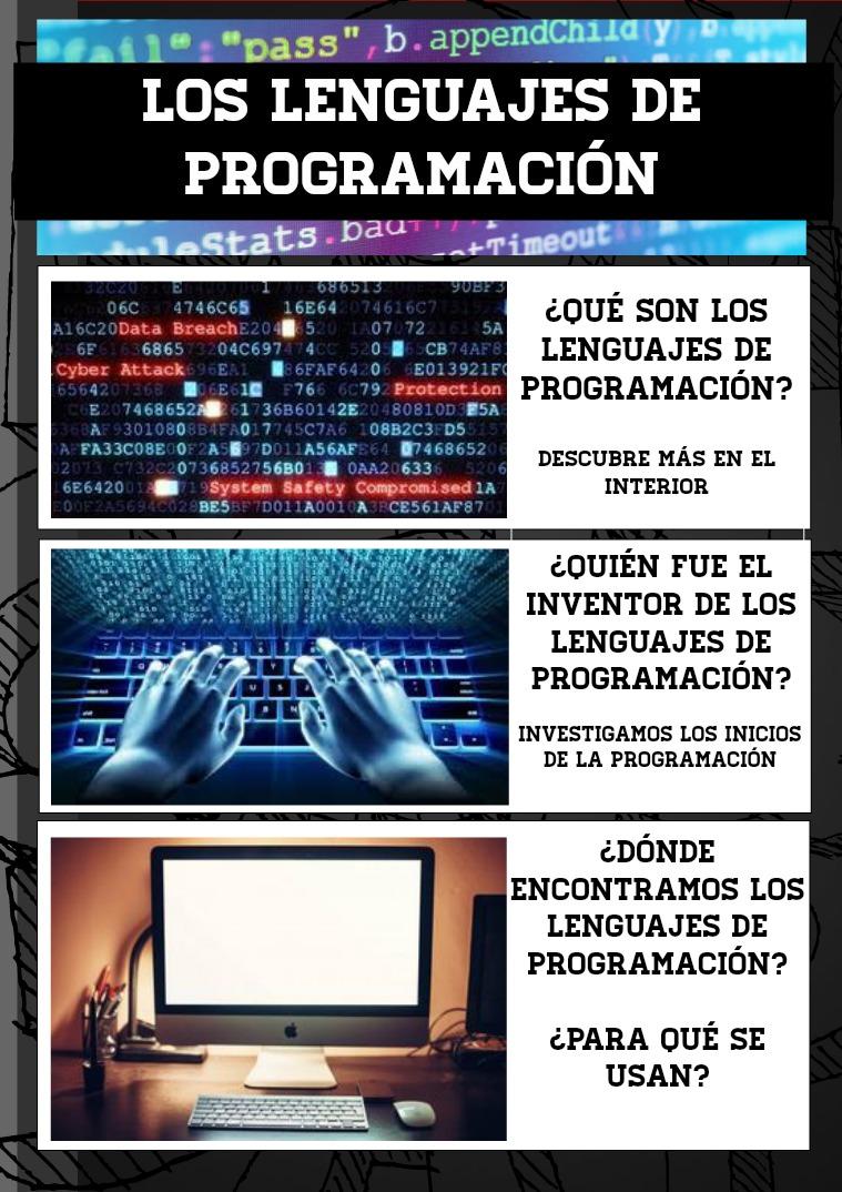Revista lenguajes de programación Volumen 1