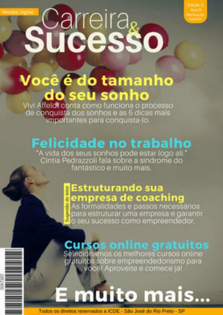 Revista Digital Carreira e Sucesso nº2 Revista Digital Carreira&Sucesso - edição nº2