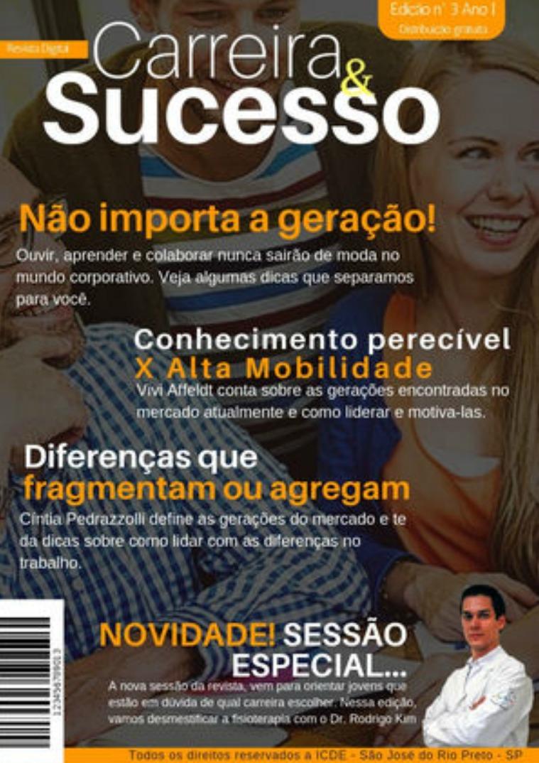 Revista Digital Carreira & Sucesso - Edição nº3 Revista Digital Carreira&Sucesso - edição nº 3