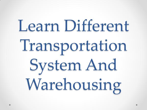 RoadLINX Inc Learn Different Transportation System And Warehous