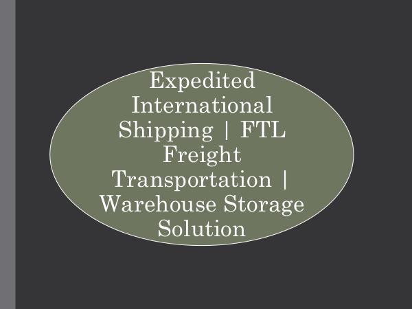 RoadLINX Inc Expedited International Shipping,  FTL Freight Tra