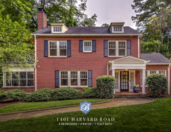 Serenity in the City in this 1920's Beauty 1401 Harvard Road