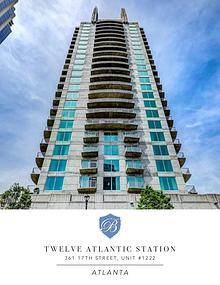 Twelve Atlantic Station, Unit #1222