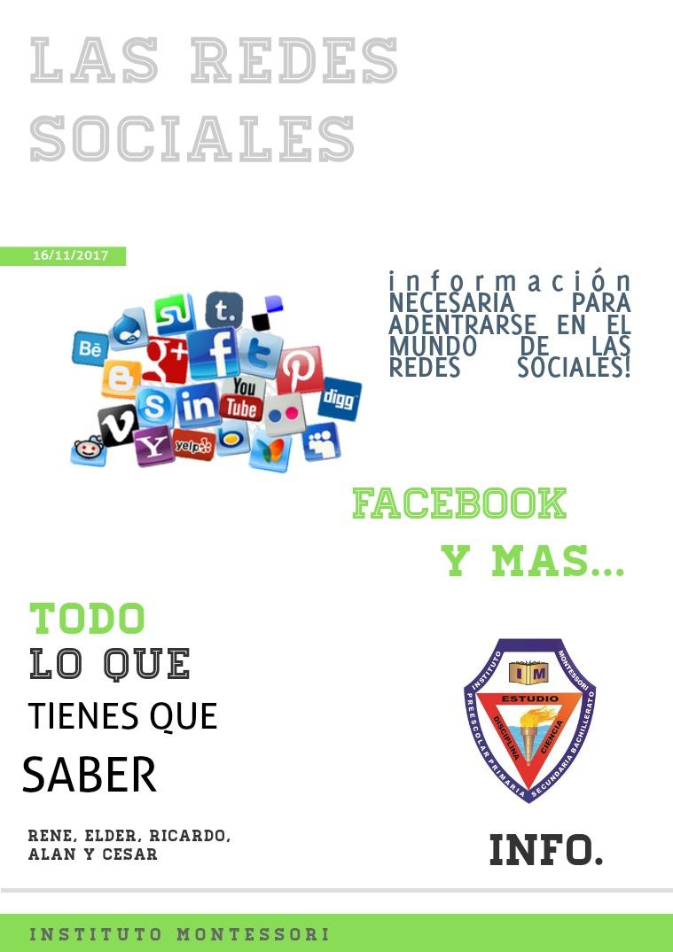 Las Redes Sociales I