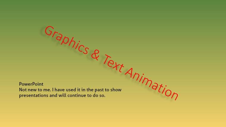 Graphics & Text Animation L.P1