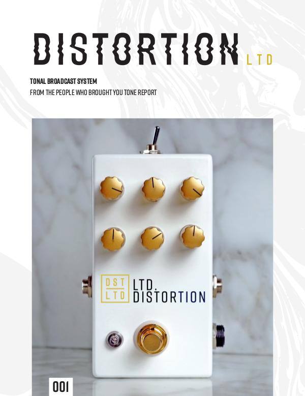 Distortion LTD Issue 001