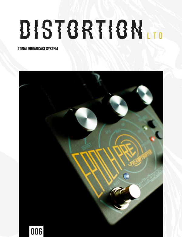 Distortion LTD Issue 006