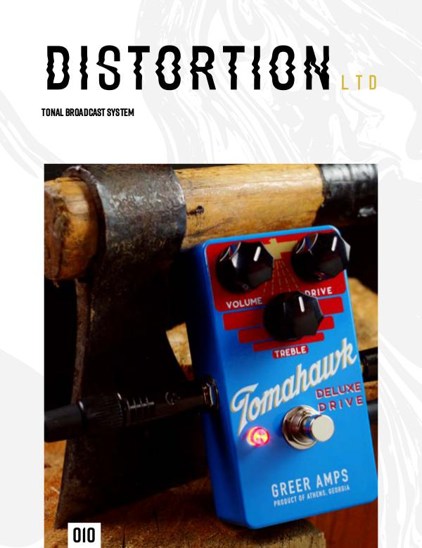 Distortion LTD Issue 010