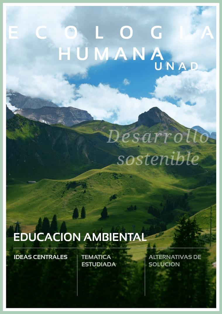 Ecología Humana Unidad 3 Ecología Humana Unidad 3. La Psicologia Ambiental