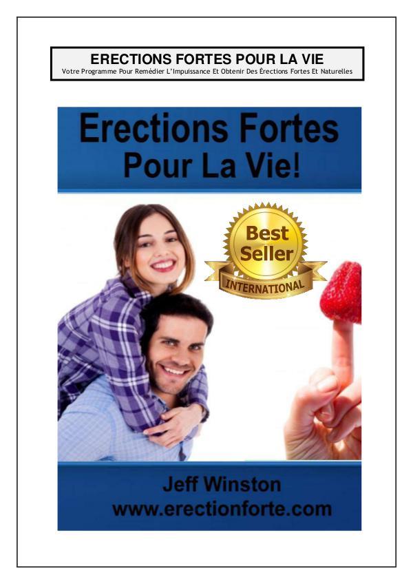 Erections Fortes Pour La Vie PDF / Livre Gratuit Telecharger jeff winston