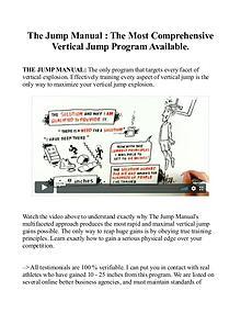 Jump Manual PDF / Book Program Free Download